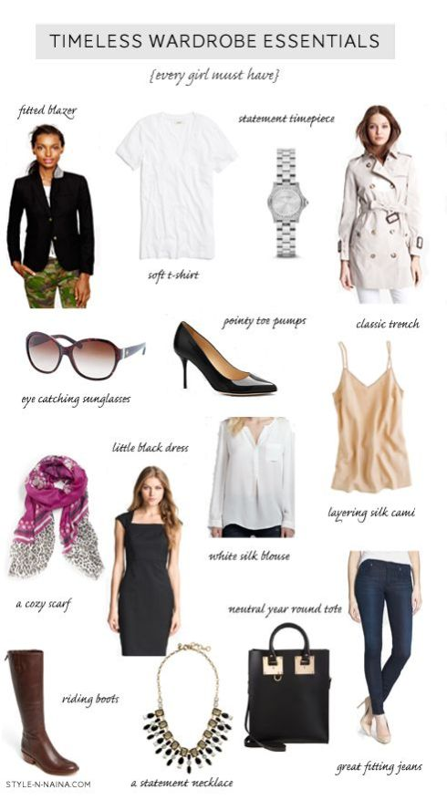 Timeless Wardrobe Essentials