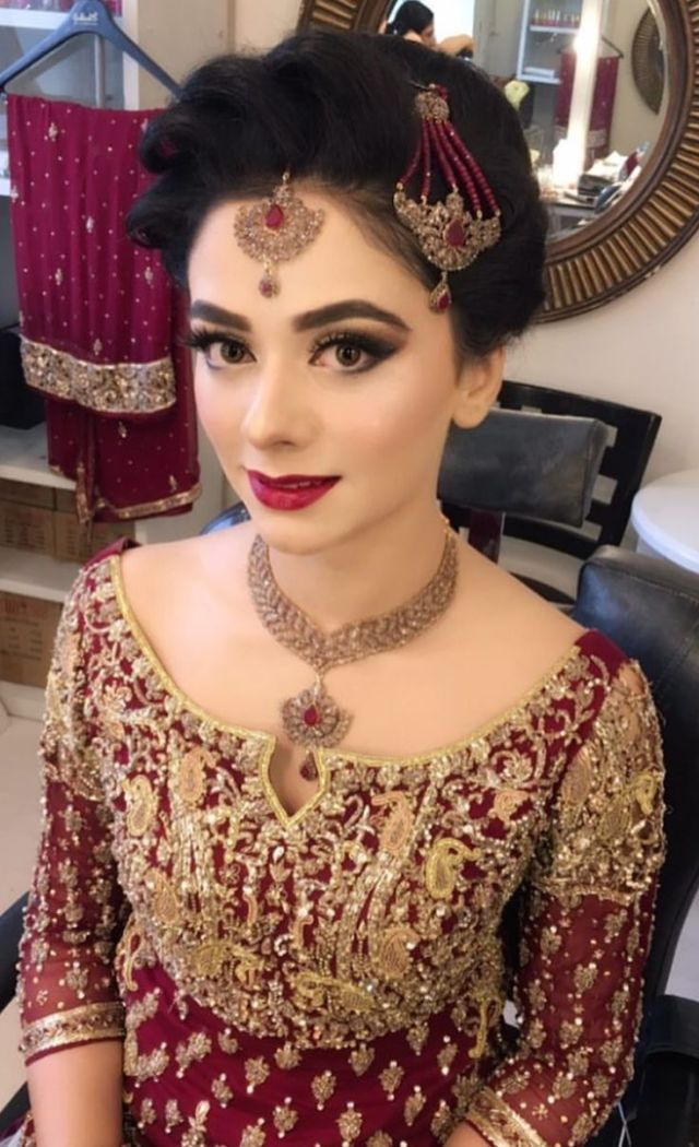 trendy pakistani bridal hairstyles 2018 - new wedding