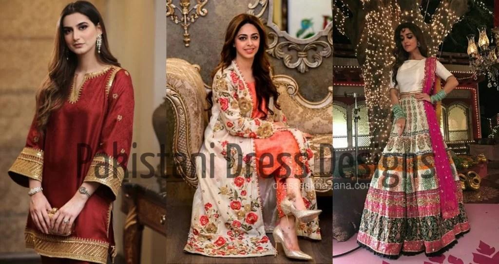 Dress Designs 2020 Paksitani Girls Fashion Designers Dresses