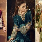 Latest Velvet Gowns Dresses Designs Ideas For Ladies In Winter Collection