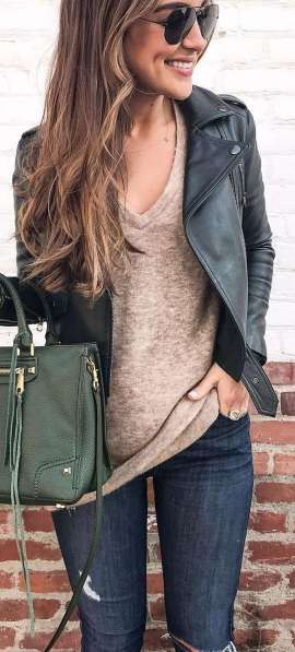 Badass leather clothes for women (001)   fashion