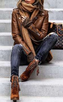 Badass leather clothes for women (009) | fashion