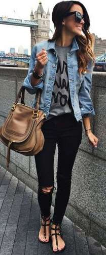 Badass leather clothes for women (010) | fashion