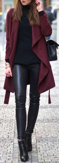 Badass leather clothes for women (012) | fashion