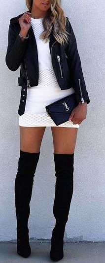 Badass leather clothes for women (014) | fashion
