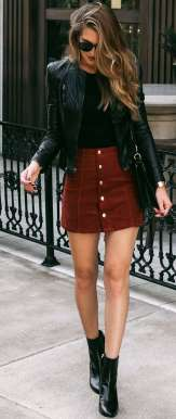 Badass leather clothes for women (015) | fashion