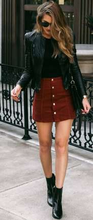 Badass leather clothes for women (015)   fashion