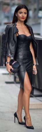 Badass leather clothes for women (023)   fashion