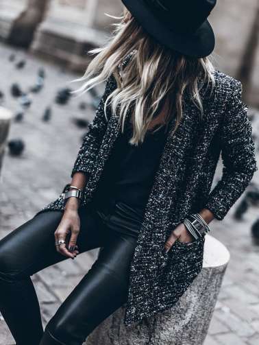 Badass leather clothes for women (028)   fashion