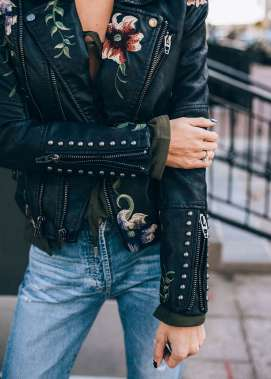 Badass leather clothes for women (035)   fashion