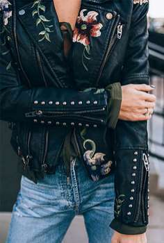 Badass leather clothes for women (047) | fashion