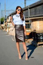 Badass leather clothes for women (050) | fashion