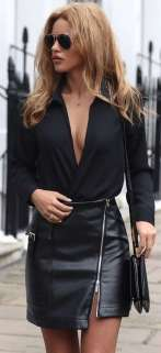 Badass leather clothes for women (056) | fashion