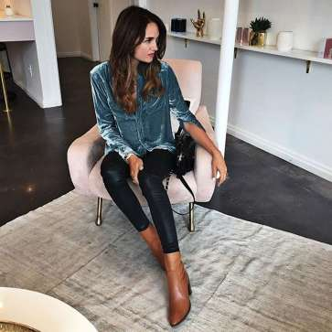 Badass leather clothes for women (068)   fashion