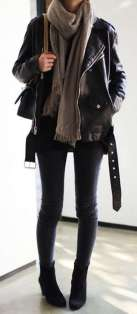 Badass leather clothes for women (071)   fashion