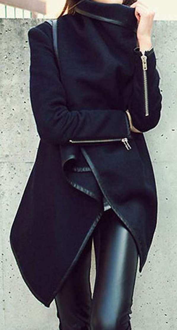 Badass leather clothes for women (076) | fashion