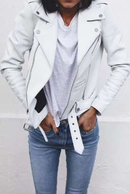 Badass leather clothes for women (078) | fashion