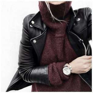 Badass leather clothes for women (086)   fashion