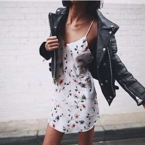 Badass leather clothes for women (088) | fashion