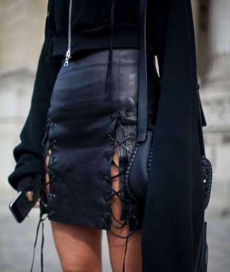 Badass leather clothes for women (098) | fashion