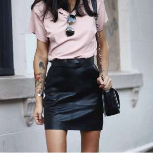Badass leather clothes for women (099)   fashion