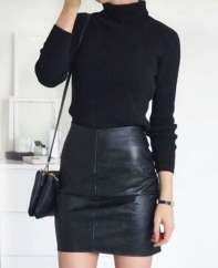 Badass leather clothes for women (100)   fashion