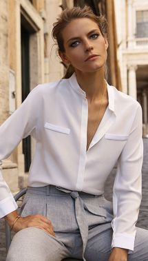 Blouse design idea and inspiration 037 fashion