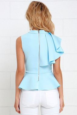 Blouse design idea and inspiration 038 fashion