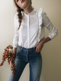 Blouse design idea and inspiration 043 fashion