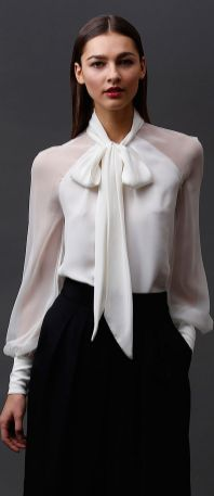 Blouse design idea and inspiration 053 fashion