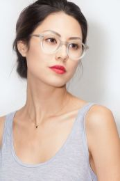 Clear Glasses Frame For Women's Fashion Ideas #Transparent #Eyeglass (14)