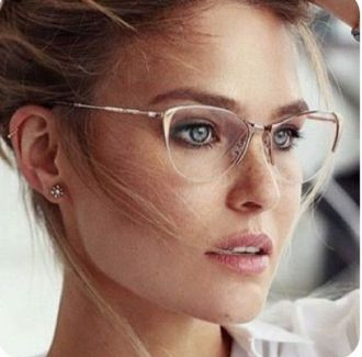 Clear Glasses Frame For Women's Fashion Ideas #Transparent #Eyeglass (18)