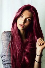 Colorful pink hairstyles (14)