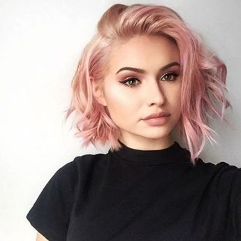 Colorful pink hairstyles (21)