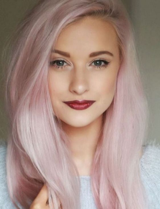 Colorful pink hairstyles (22)