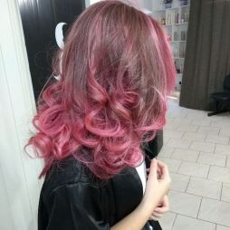 Colorful pink hairstyles (28)