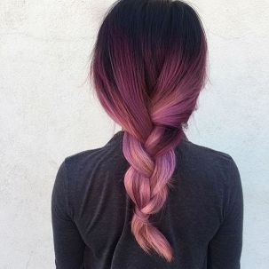 Colorful pink hairstyles (29)