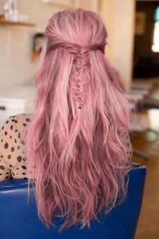 Colorful pink hairstyles (33)