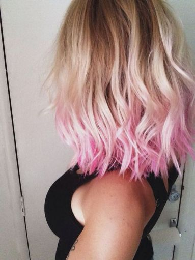 Colorful pink hairstyles (35)