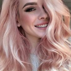 Colorful pink hairstyles (48)