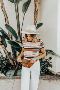 Not Sure What To Call It? Fanny Pack Or Belt Bag, Camilla Of Navy Grace Is Sharing Why She Uses Both Terms And How To Classify Them. Budget Friendly Fanny Packs Are So Convenient And Practical So You Need To Jump On Board // Affordable Fanny Packs // White