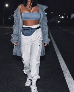Uploaded By User Janellyxoxi : Fannypack Outfits Street Style Ideas
