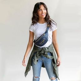 Fawndesign.com CROSSBODY Or CLASSIC. There Are Two Ways To Wear! You Can Even Swing The Bag Around And Wear It On Your Back!Рађ #FawnyPackFriday #fannypack #fawndesign