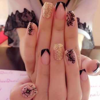 Gorgeous nail art designs (46)