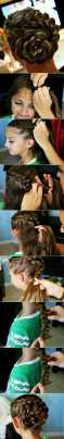 Hairstyles diy and tutorial for all hair lengths 004   fashion