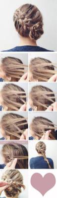 Hairstyles diy and tutorial for all hair lengths 005   fashion