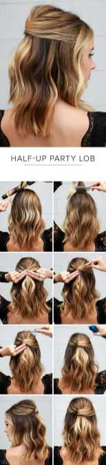Hairstyles diy and tutorial for all hair lengths 006 | fashion
