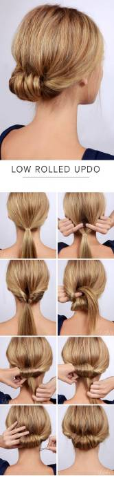 Hairstyles diy and tutorial for all hair lengths 011   fashion