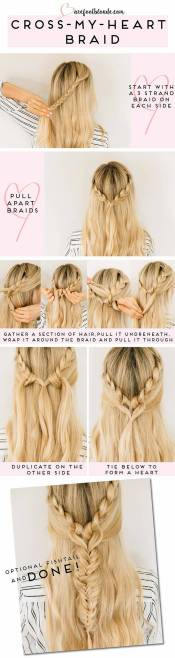 Hairstyles diy and tutorial for all hair lengths 012 | fashion