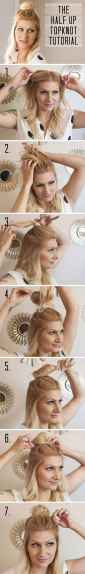Hairstyles diy and tutorial for all hair lengths 021 | fashion